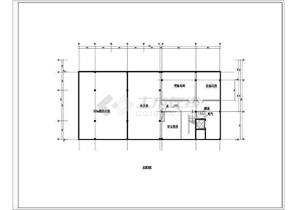 温泉度假别墅完整建筑设计图-图3