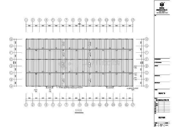 详细的一套钢结构cad施工图(共16张)-图2