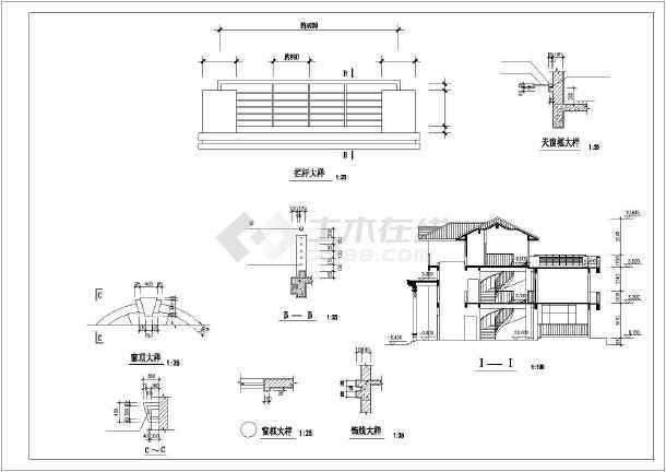 某独立别墅建筑设计施工图-图1