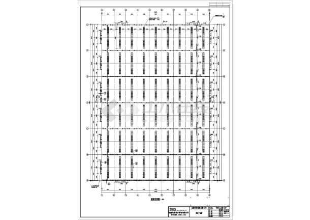 某地公司钢结构厂房CAD图纸-图3