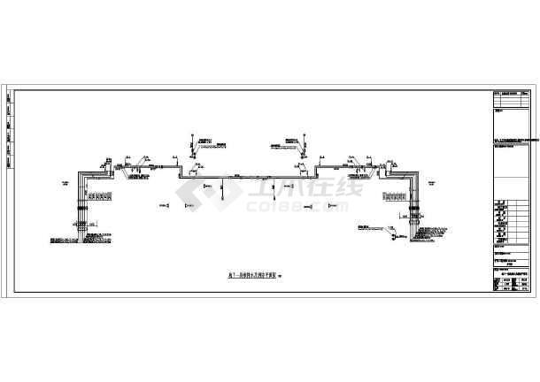 江苏高层住宅楼给排水施工图(含设计说明)-图1