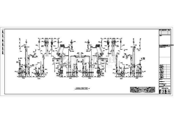 江苏高层住宅楼给排水施工图(含设计说明)-图2