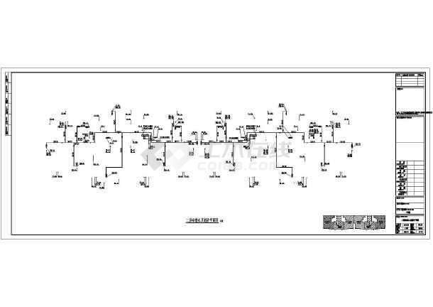 江苏高层住宅楼给排水施工图(含设计说明)-图3