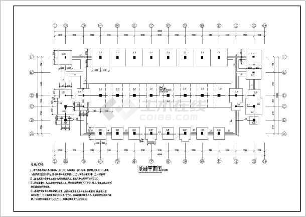 一套教学楼结构施工图(共16张)-图2