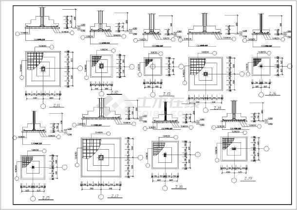 一套教学楼结构施工图(共16张)-图3