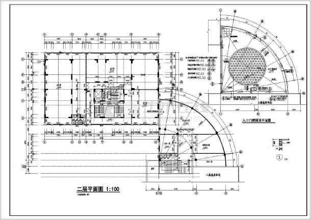 某地高层住宅建筑施工图-图1