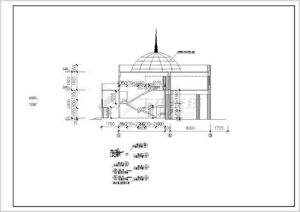 某地高层住宅建筑施工图-图3