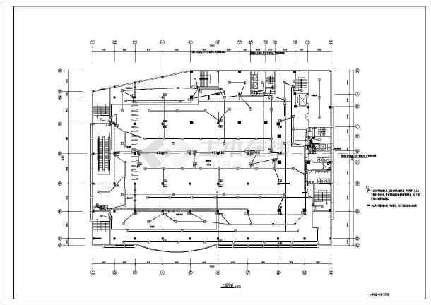 一类高层住宅消防电气施工图纸-图1