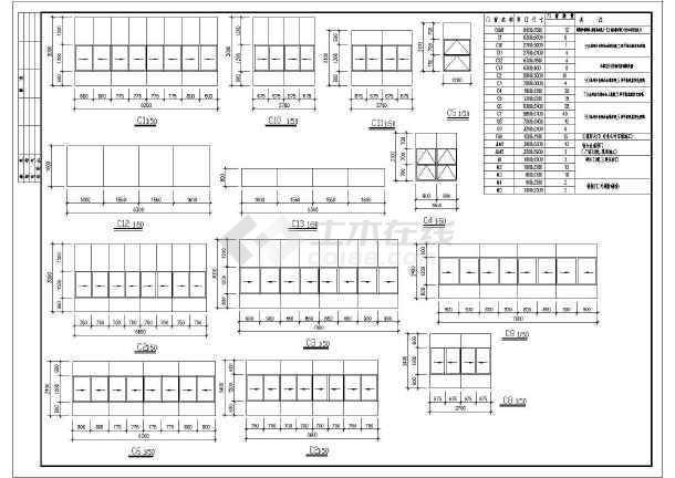 某地多层厂房建筑施工图-图1