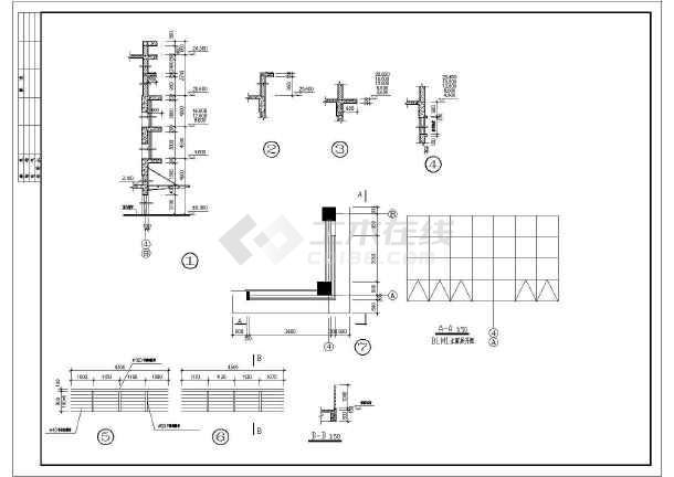 某地多层厂房建筑施工图-图2