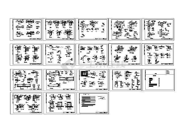 钢结构设计压型钢板图-图2