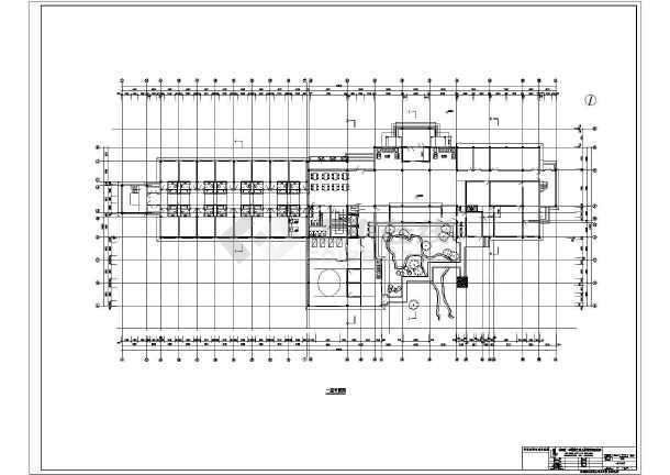 宁海温泉度假别墅建筑设计图-图1