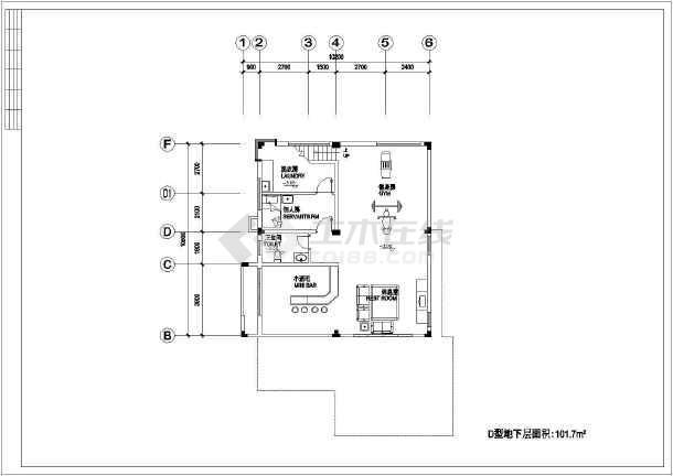 两套不同别墅建筑设计图纸-图1