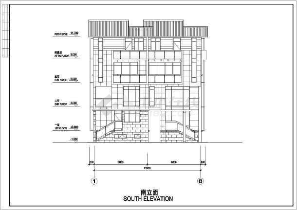 两套不同别墅建筑设计图纸-图2