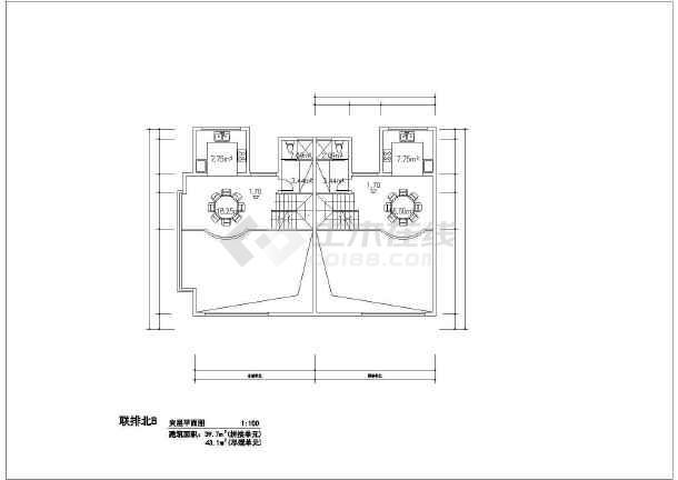 216平米别墅建筑设计施工图-图2