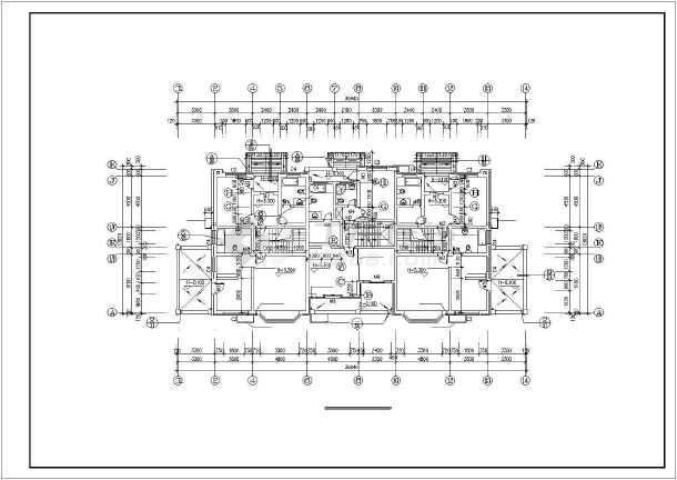 某花园小区别墅建筑设计施工图-图3
