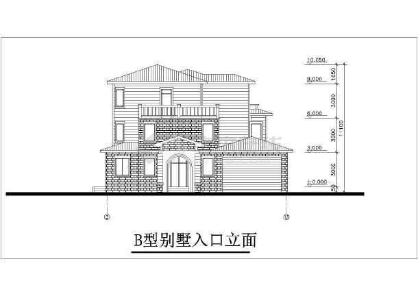精美别墅建筑设计施工图-图1
