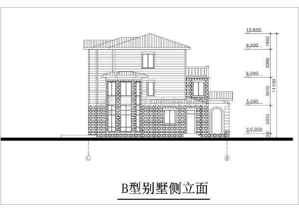 精美别墅建筑设计施工图-图3