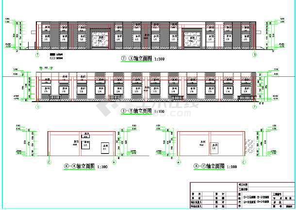某地靶场建筑设计施工图-图2