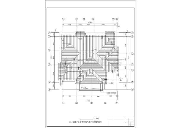 美式别墅全套建筑设计图纸-图2
