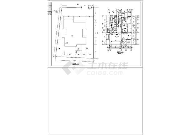 两套仿古别墅建筑设计图-图1