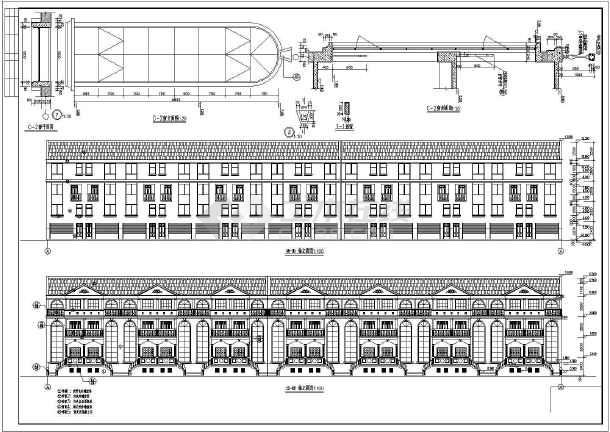 阳光别墅全套建筑设计图纸-图1