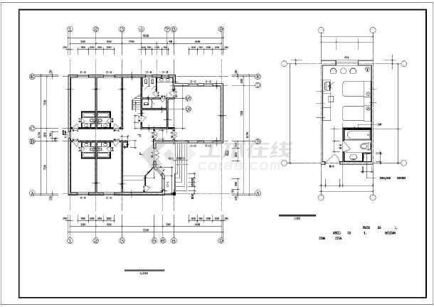 景区别墅全套建筑设计施工图-图1