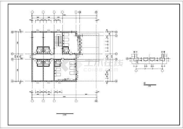 景区别墅全套建筑设计施工图-图3