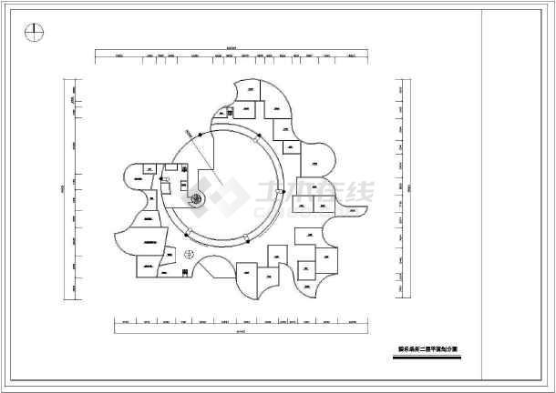 某娱乐场所室内设计装修cad方案图纸(共27张)-图2