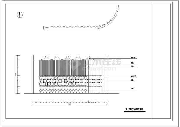 某娱乐场所室内设计装修cad方案图纸(共27张)-图3