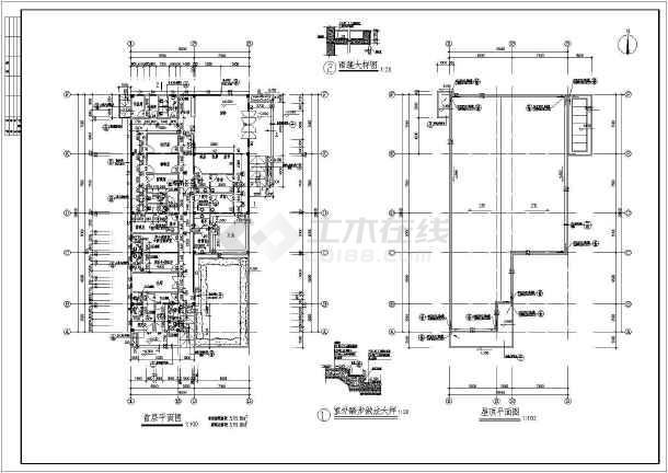 某四层医院发热门诊楼建筑设计方案图-图2