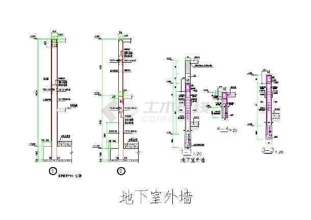 结构细位部件详图大样图,非常全的-图1