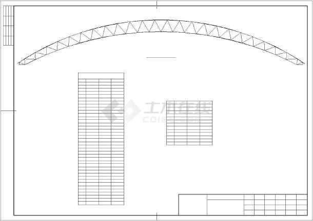 某煤场防尘环保技改工程结构设计图-图3