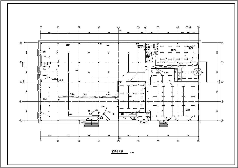 某公司厂房电气施工图(共11张)图片2