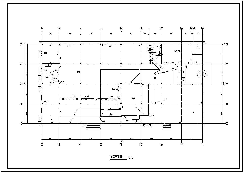 某公司厂房电气施工图(共11张)图片3