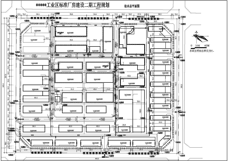 某工业区二期厂房规划建筑设计图(共6张)图片3