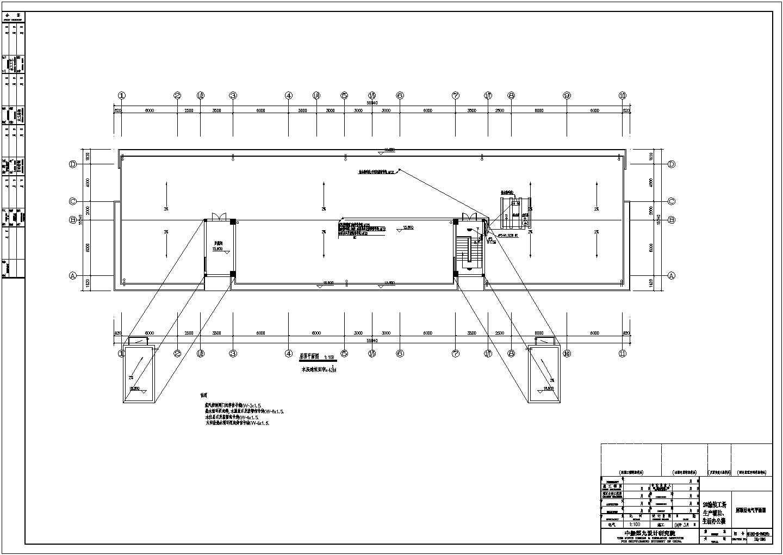 大型厂房电气施工图(共8张)图片2