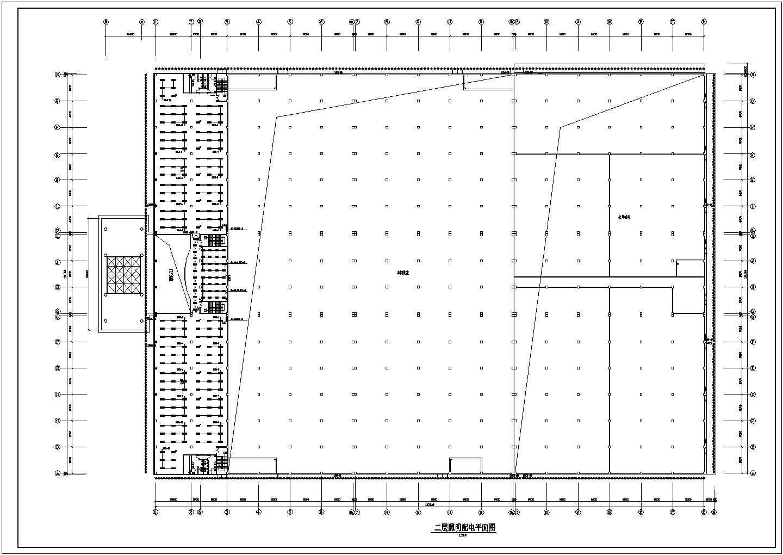 经典的一套厂房电气施工图(共5张)图片3