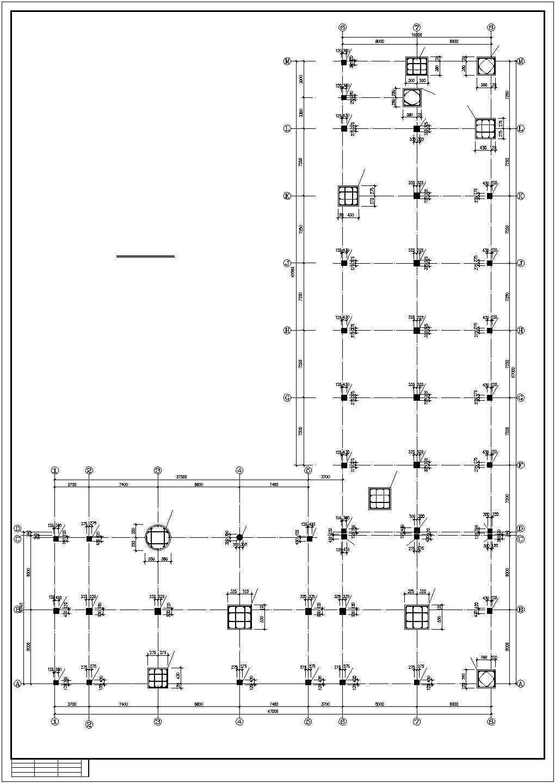 某工厂办公楼结构施工图图片3