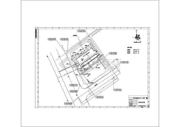 点击查看某变电站消防及给排水设计全图第1张大图