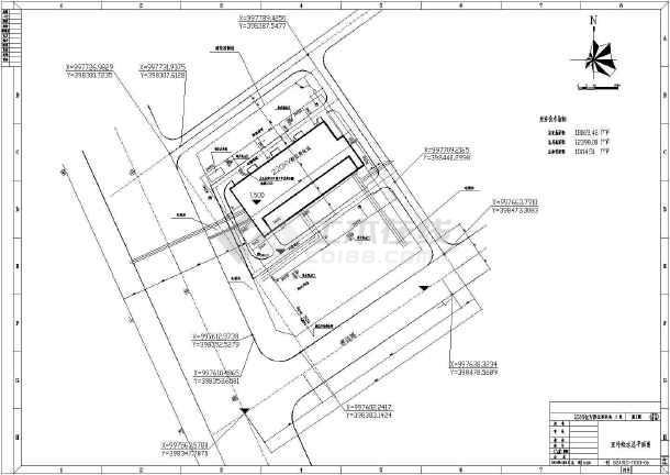 点击查看某变电站消防及给排水设计全图第2张大图