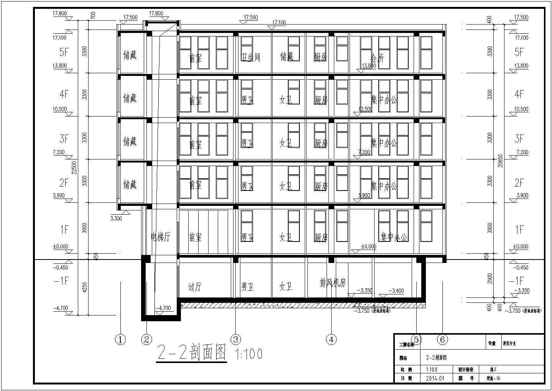 [天津]多层办公楼给排水施工图图片2
