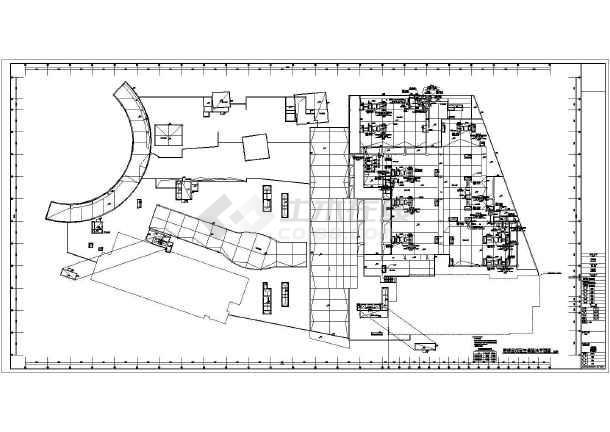 [湖南]大型购物中心暖通空调施工图-图一