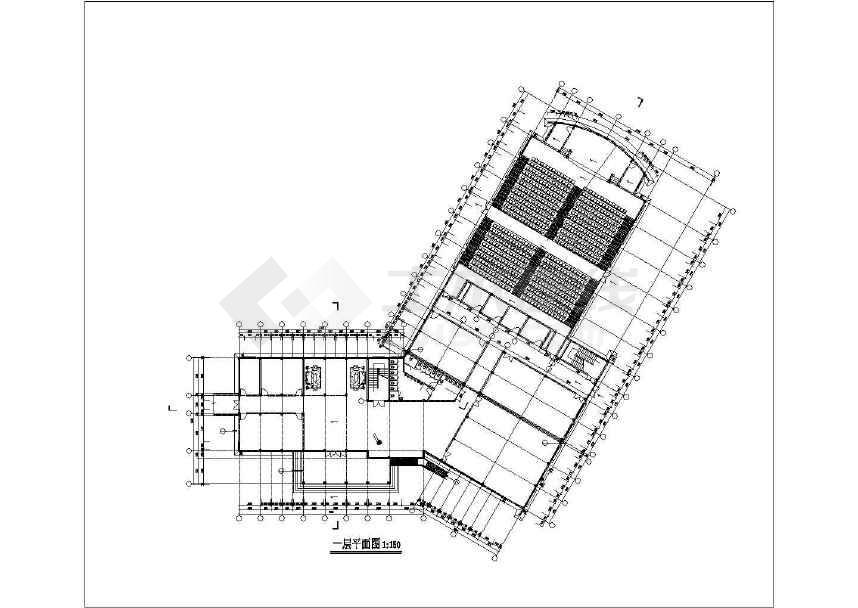 某地仿古二层酒店会议中心建筑结构扩初图