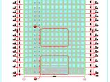 某地18�迎h保大�悄��建筑施工�D(明框玻璃幕���X板幕�Γ�D片1
