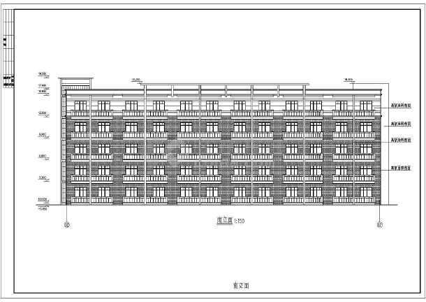 点击查看公司集团员工宿舍楼室内装修设计cad图第2张大图