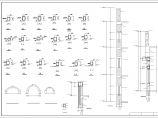 某地一套框混结构三层幼儿园建筑方案图图片1