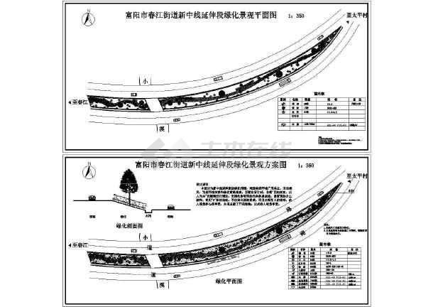 详细的一些园林景观施工图-图二