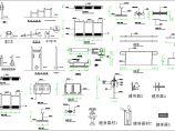 室外健身器材CAD设计施工图库图片1