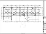 四层框架结构水生植物研究平台结构施工图图片1
